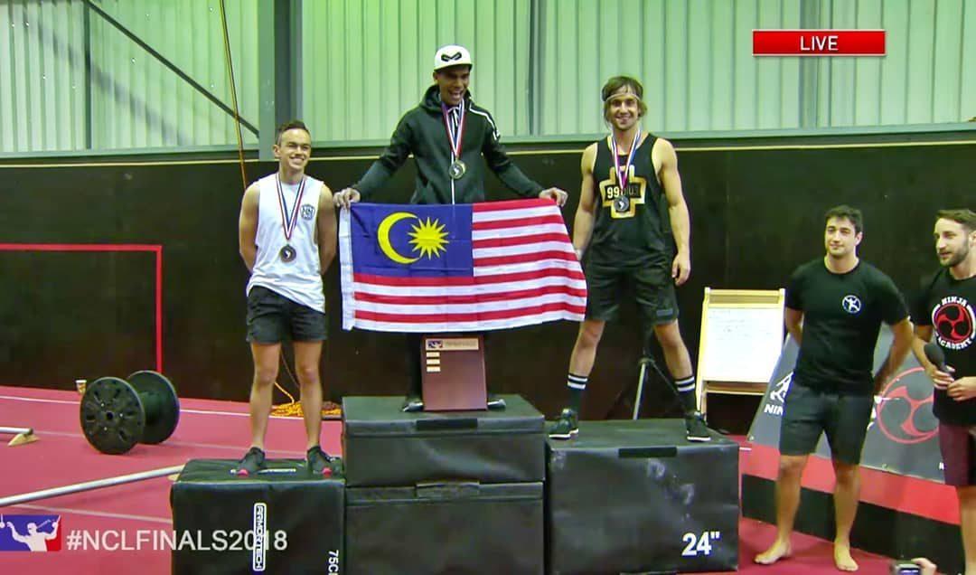 Harumkan Nama Negara, Mat Redho Muncul Juara Ninja Challenge League 2018