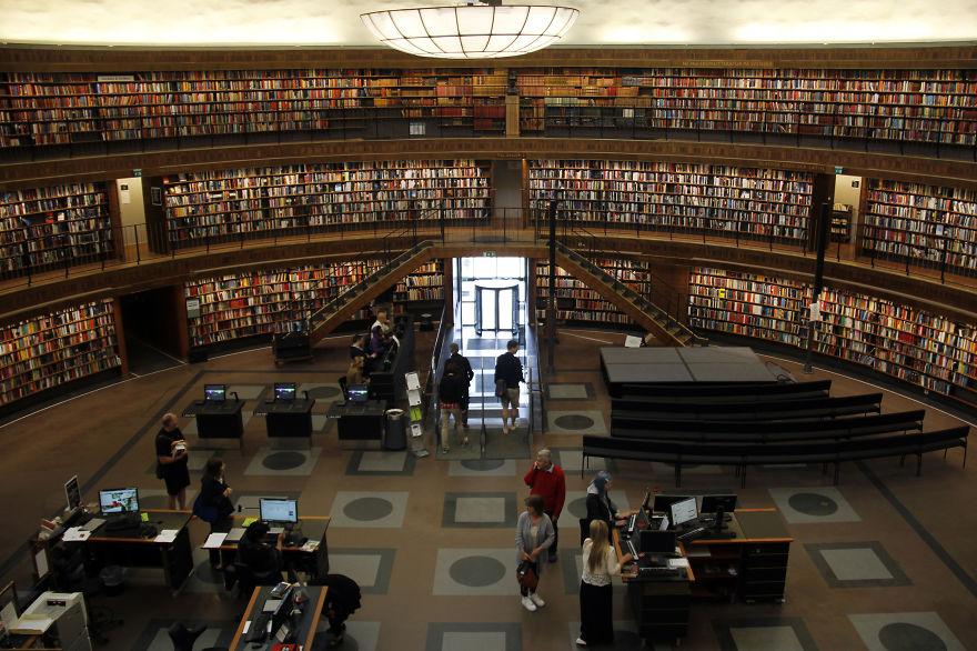 Senarai Perpustakaan Menarik Di Luar Negara, Nombor 1 Merupakan Yang Kesembilan Terbesar Di Dunia!